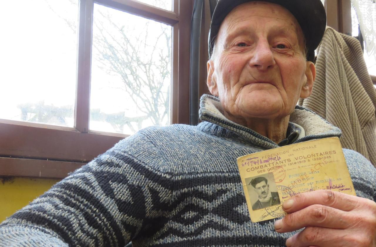 Oise : 75 ans après la guerre, ce combattant volontaire reçoit la Légion d'honneur