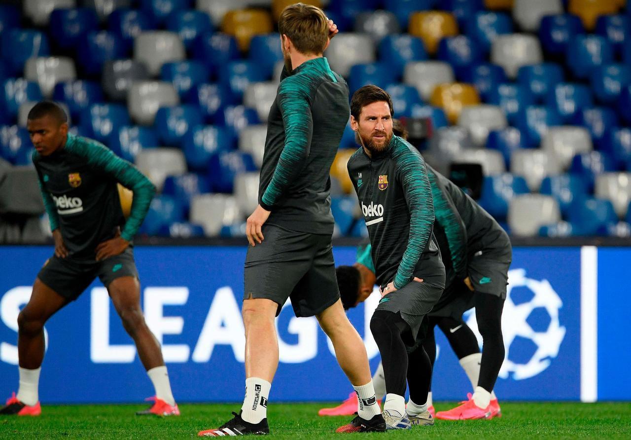 Ligue des champions : trois choses à savoir avant Naples-Barcelone
