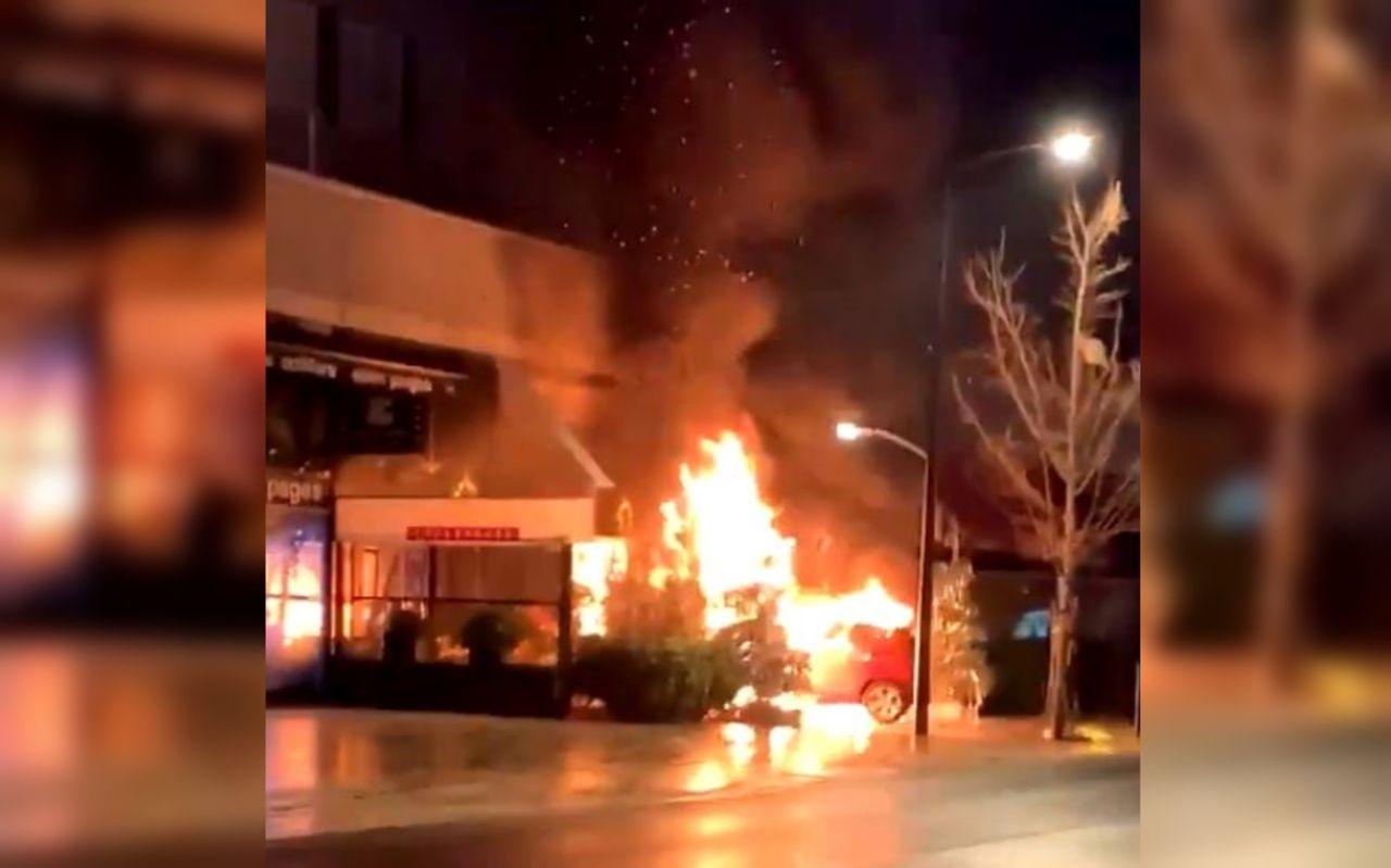 Courbevoie : le restaurant de grillades pris pour cible par des incendiaires