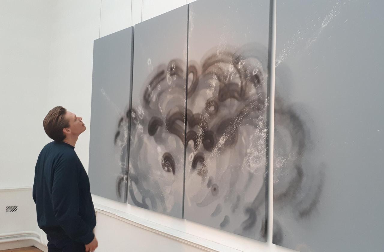 Cachan : du graf à l'art académique, Benjamin Laading joue sur tous les tableaux - Le Parisien