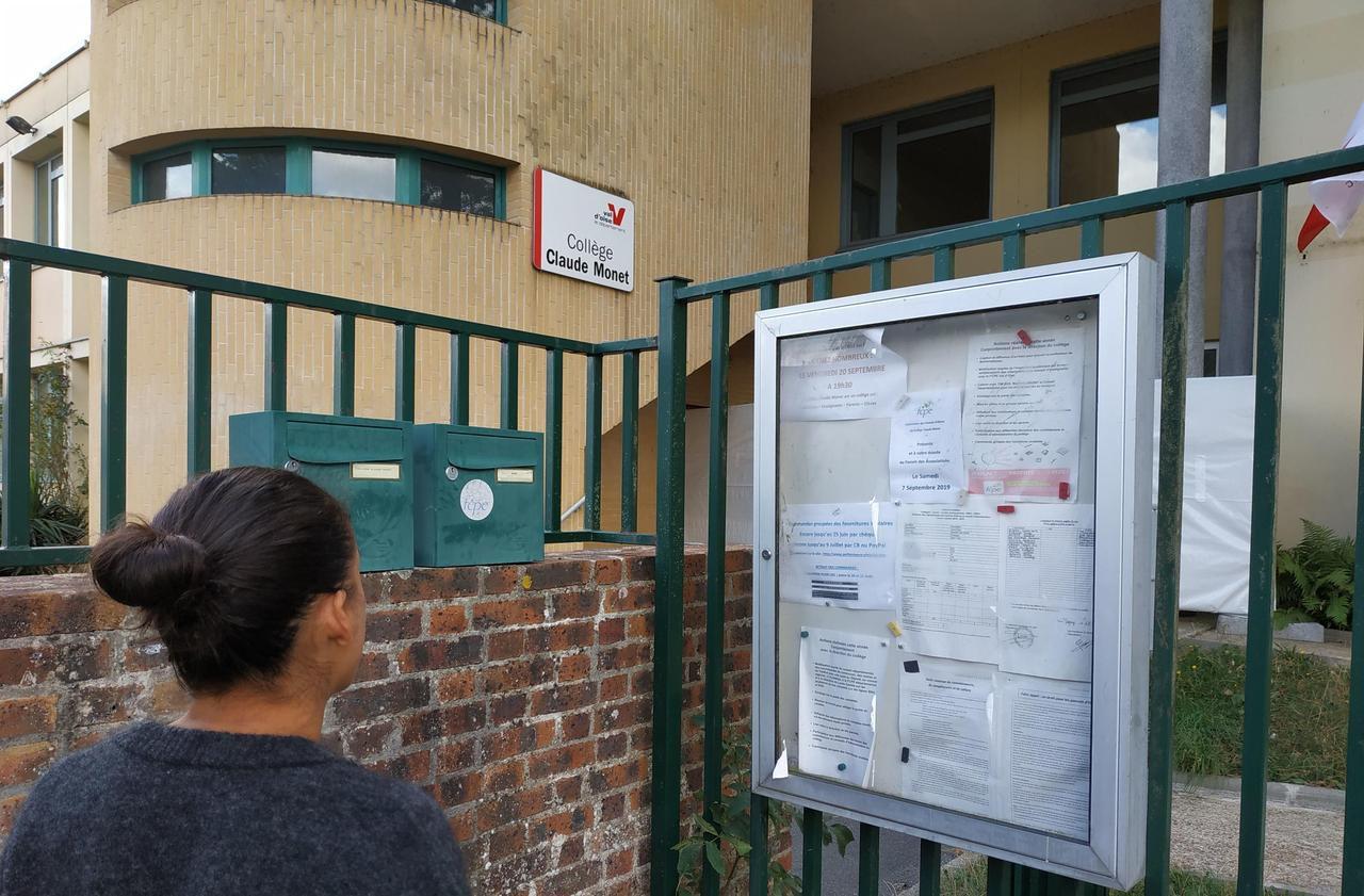 La rentrée reportée d'une semaine au collège de Magny-en-Vexin - Le Parisien