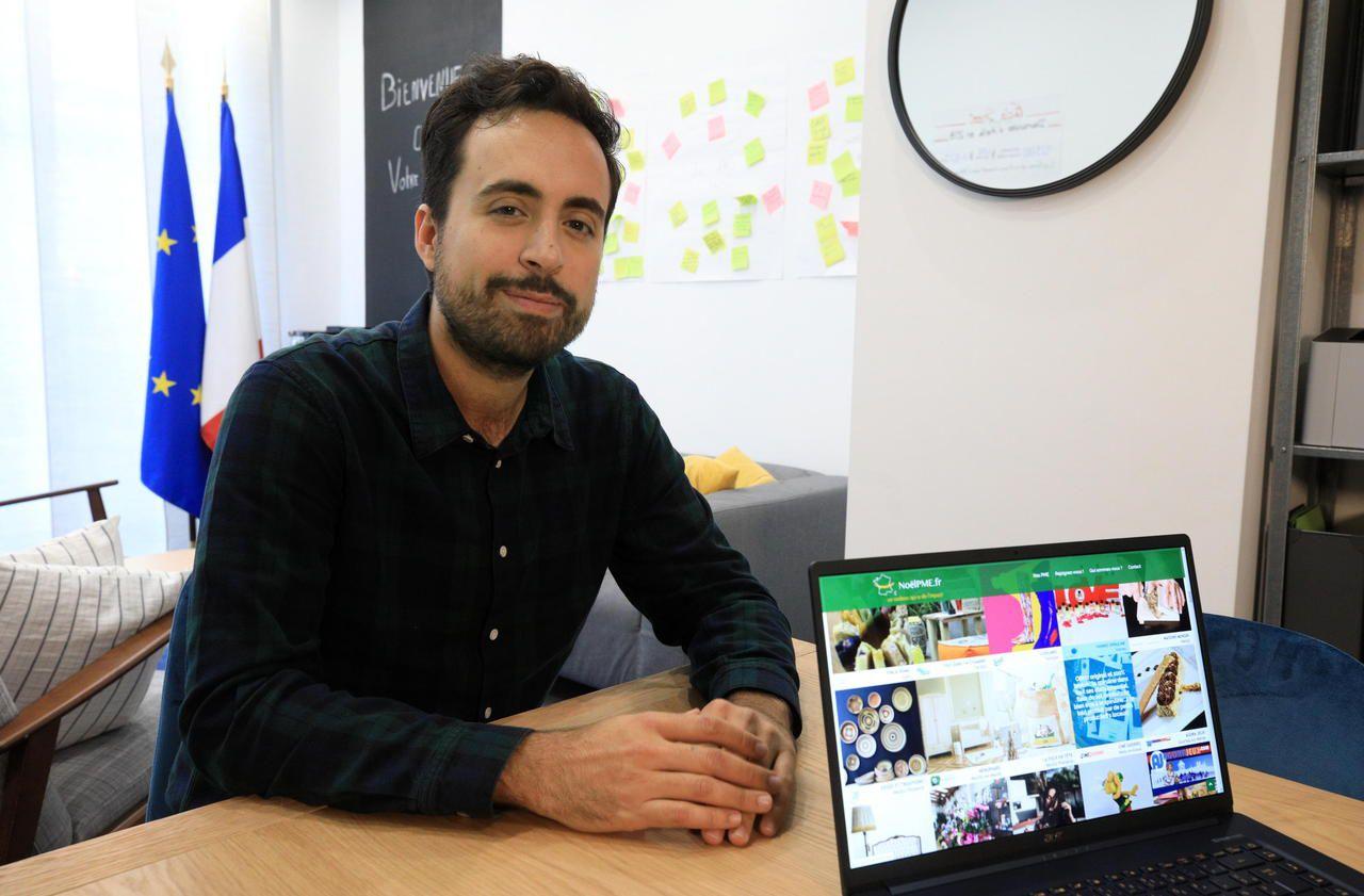 Des cadeaux à «impact local» : sur <b>Internet</b>, une <b>vitrine</b> de Noël pour les PME françaises