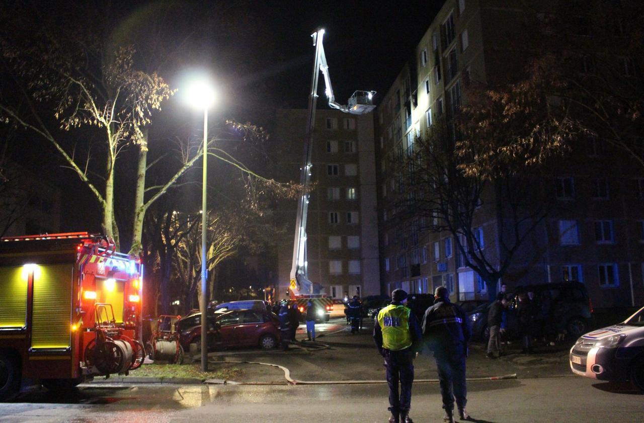 À Beauvais, plusieurs personnes évacuées après un incendie