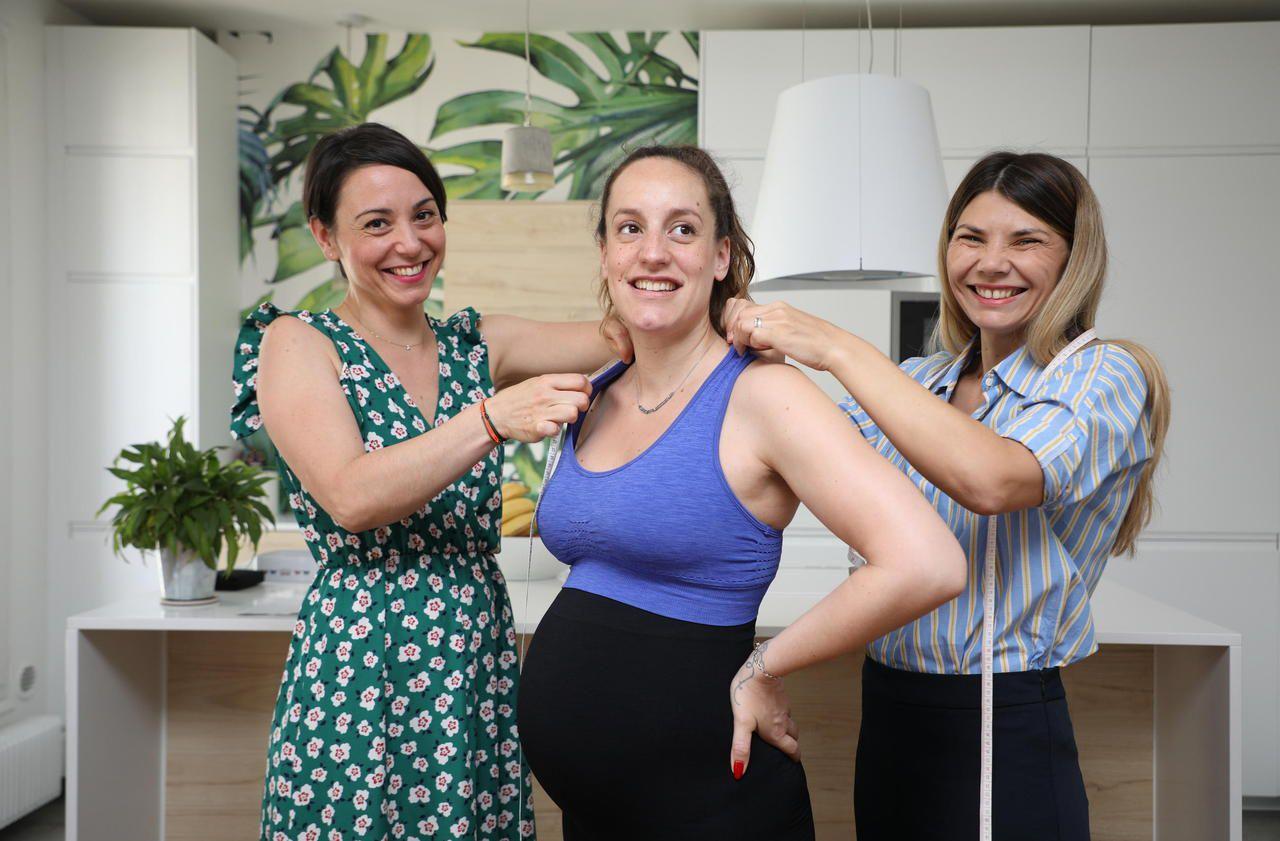 La première ligne de vêtements de sport pour femme enceinte est née à Levallois-Perret - Le Parisien