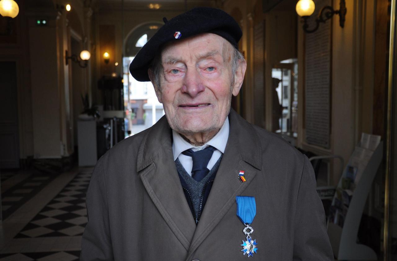 Rueil-Malmaison : le porte-drapeau quasi-centenaire a fait triompher l'amour sur la guerre - Le Parisien