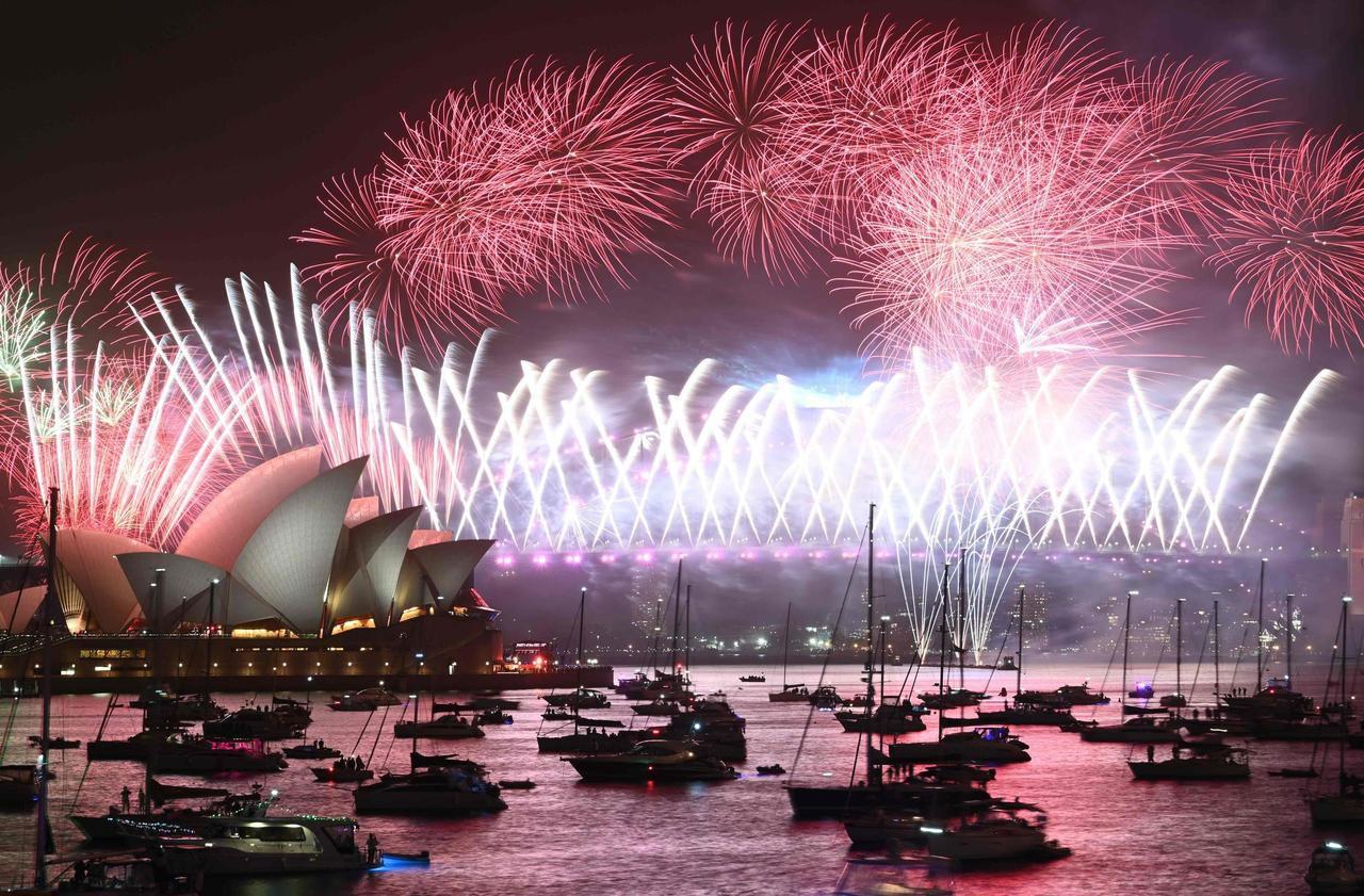 Sydney, Tokyo, Pékin… Les images du Nouvel an 2020 à travers le monde