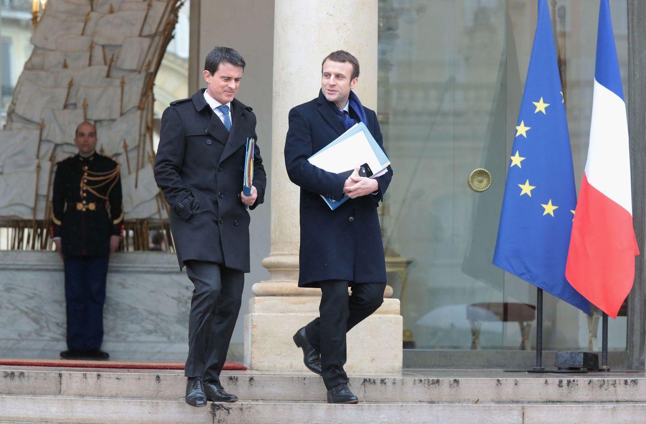 Macron et Valls enterrent la hache de guerre et se reparlent