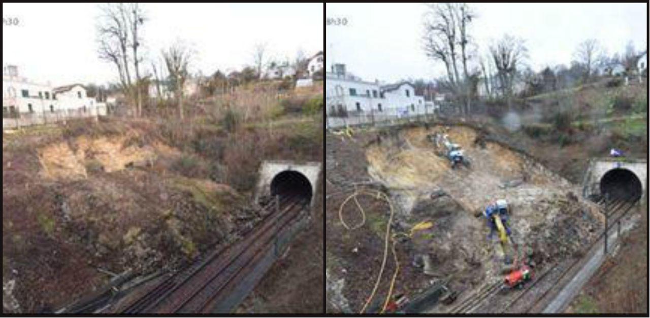 Le talus continue de s'affaisser, la reprise du trafic SNCF entre La Défense, Saint-Cloud et Versailles encore repoussée