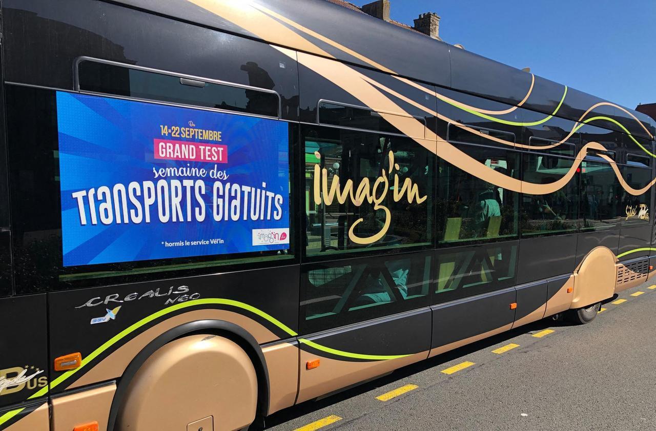 Transports : à Calais, la fréquentation des bus a bondi de 89 % avec la gratuité