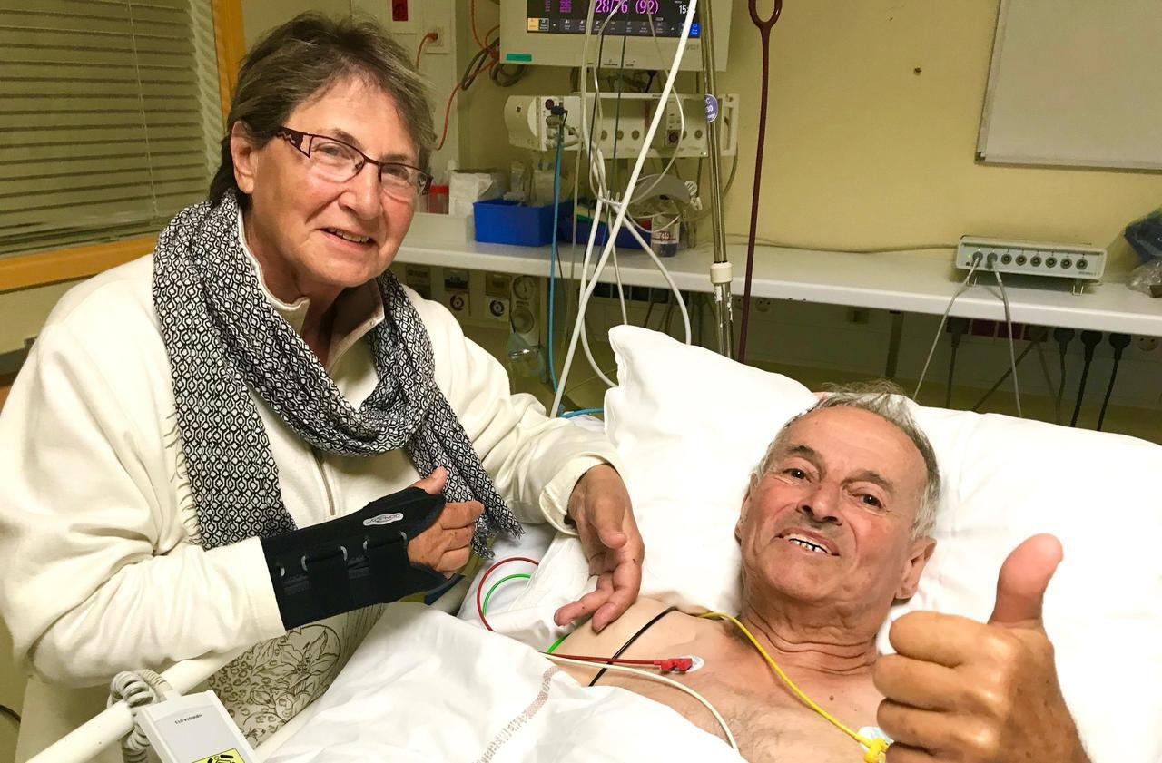 Le sauvetage in extremis de Mauricette et Roland, perdus en montagne
