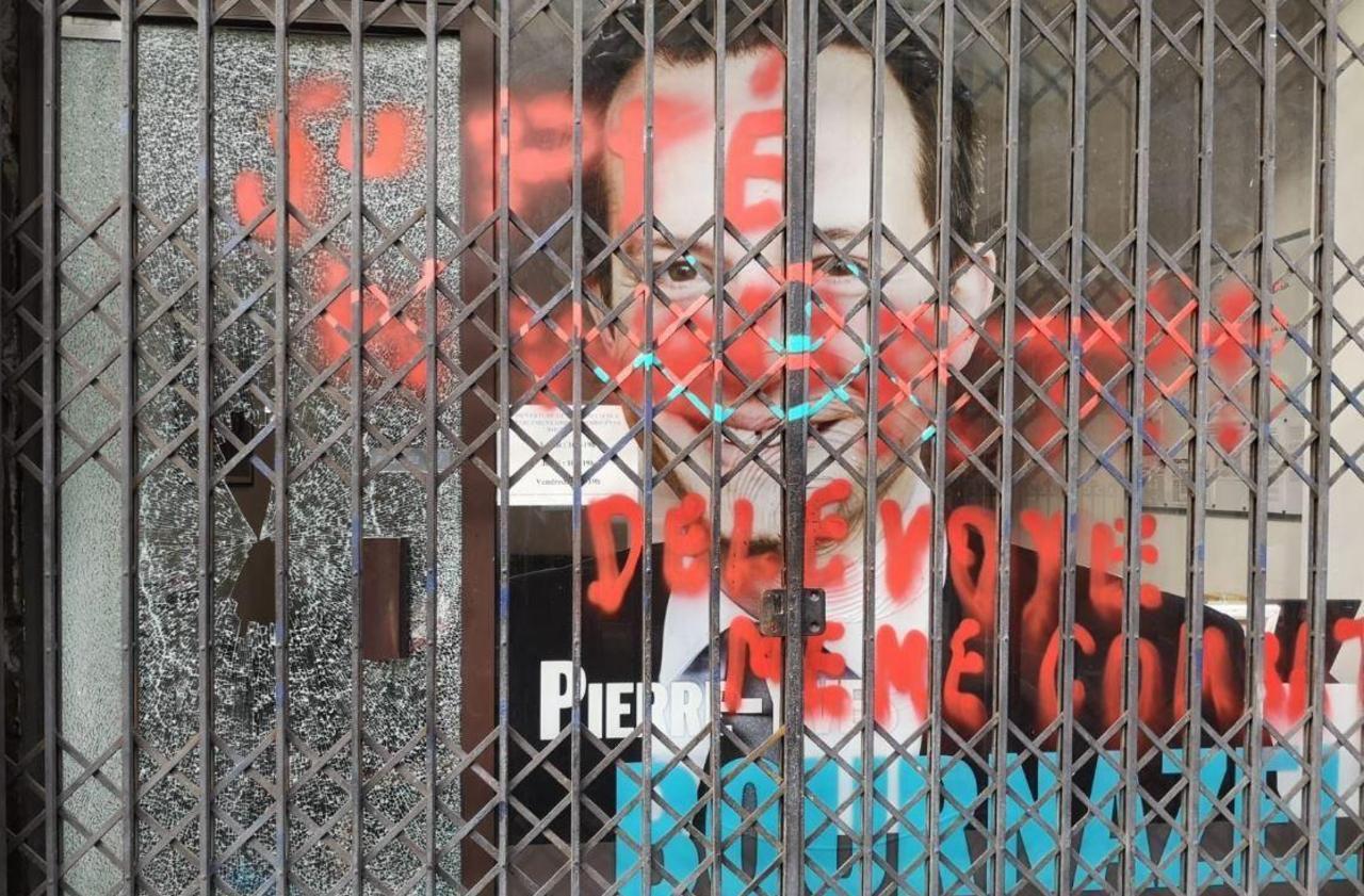 Municipales à Paris : la permanence de Pierre-Yves Bournazel vandalisée