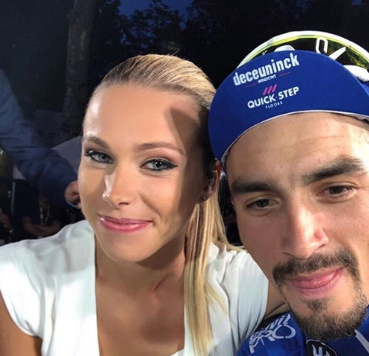 Cycling Julian Alaphilippe Confined With Marion Rousse Archyde