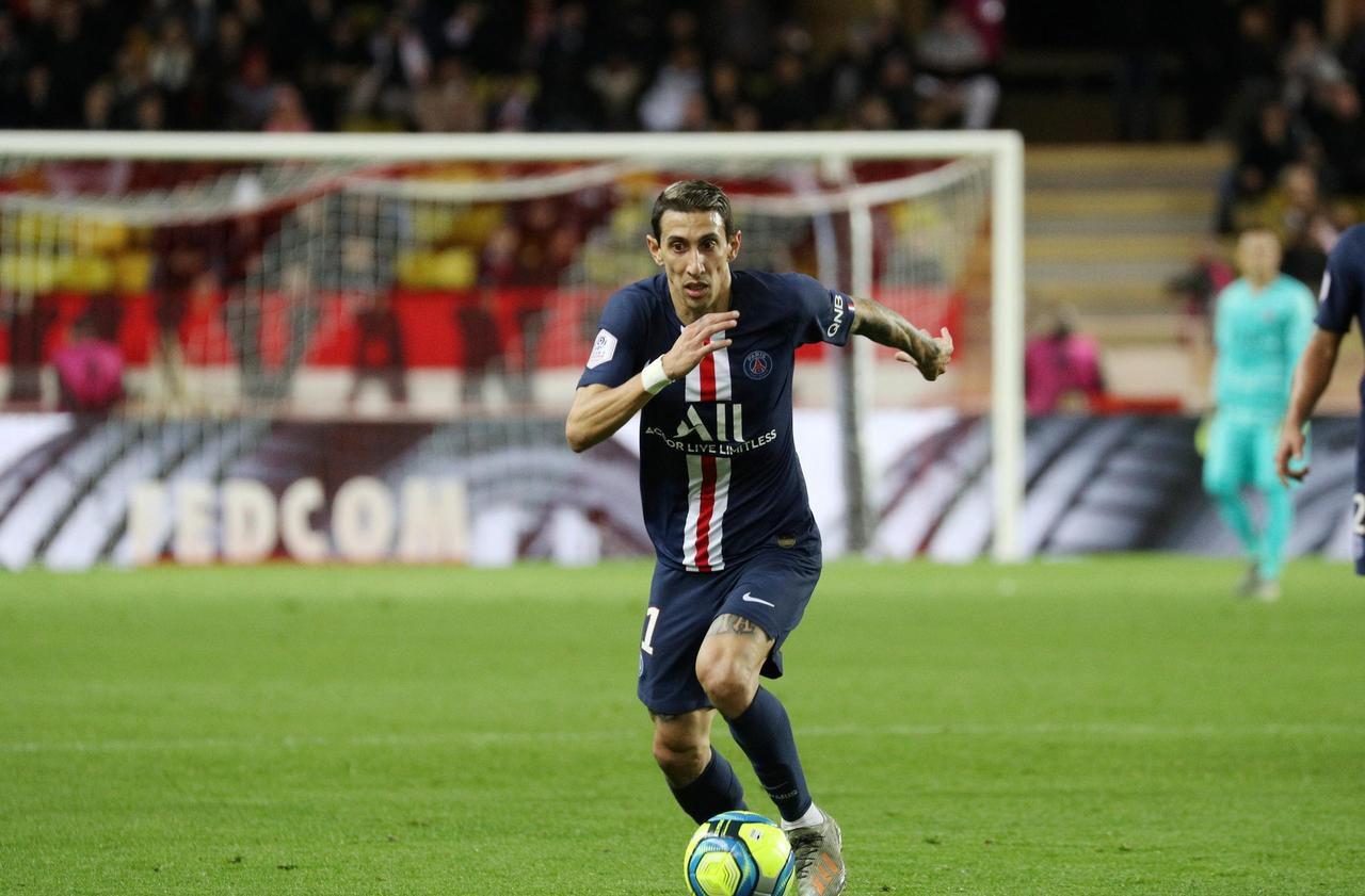 Monaco-PSG : Di Maria a maintenu l'équilibre