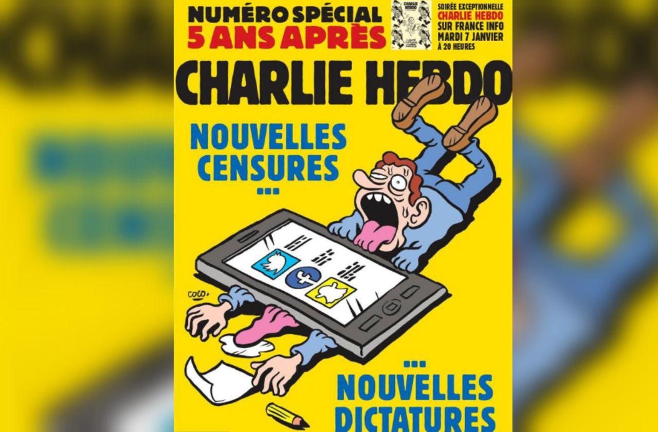 Cinq ans après l'attentat, Charlie Hebdo dénonce «la pensée formatée» et «le politiquement correct»