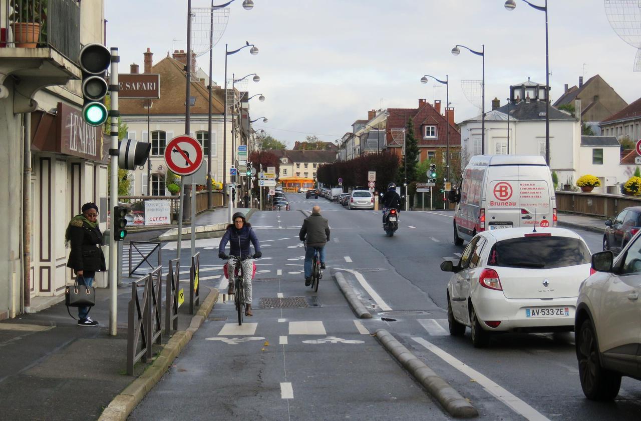 Municipales à Melun : des pistes cyclables pour décongestionner le trafic - Le Parisien
