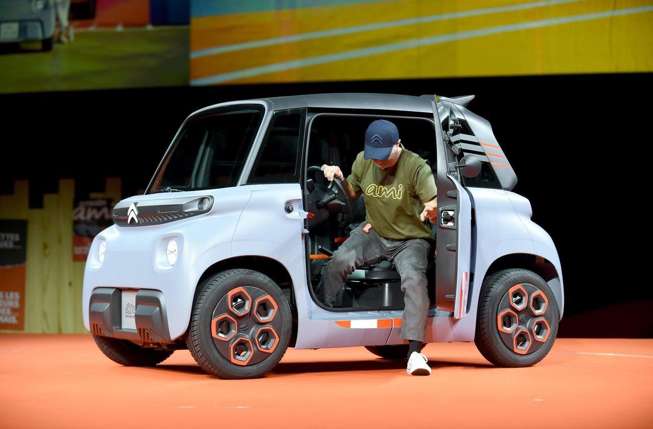 Citroën lance Ami, sa voiture électrique sans permis à bas prix