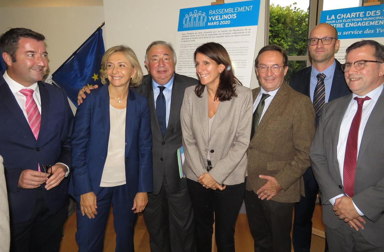 Municipales dans les Yvelines : 39 candidats de droite sous un même label