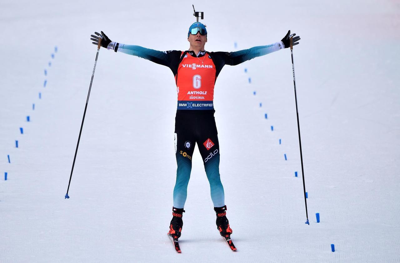 Biathlon : cinq choses à savoir sur Émilien Jacquelin, le Français champion du monde de la poursuite