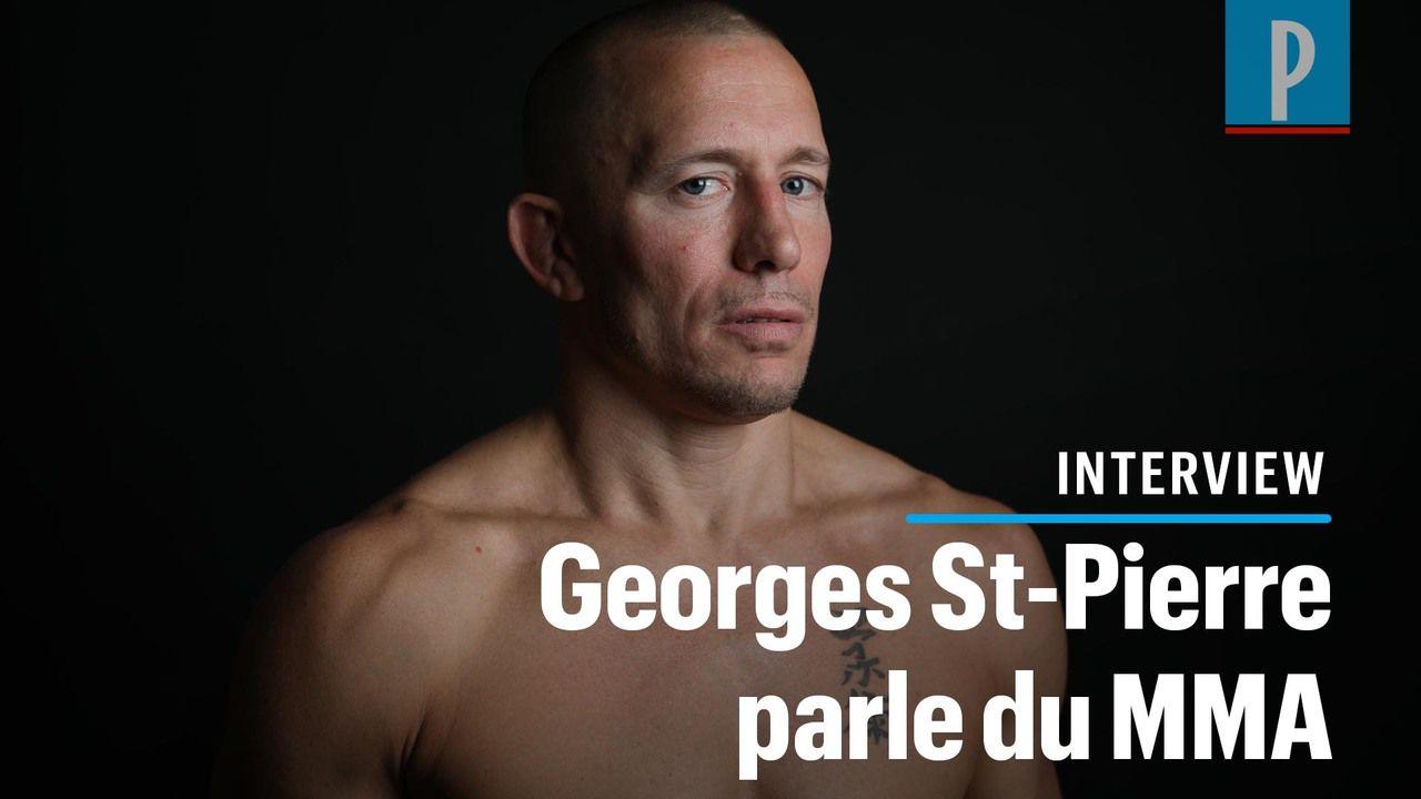 Georges St-Pierre : « Je ne montrerai pas mes combats de MMA à des enfants »