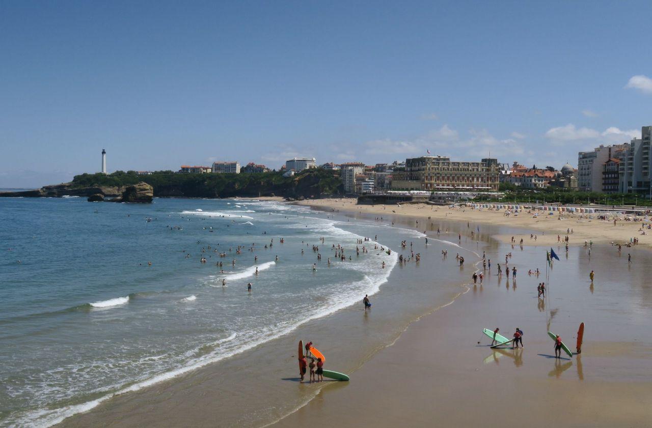 JO 2024 : Biarritz fait front face à Tahiti pour accueillir le surf
