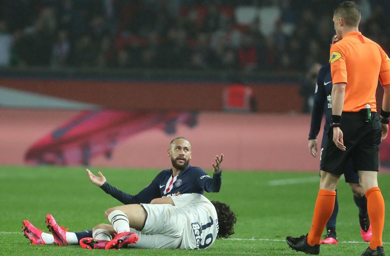 PSG-Bordeaux : quand Adli demande l'annulation du carton rouge de Neymar