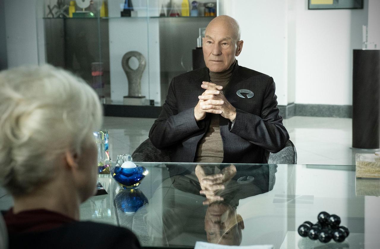 Patrick Stewart de retour dans «Star Trek : Picard» : «J'ai honte de ne pas parler français»