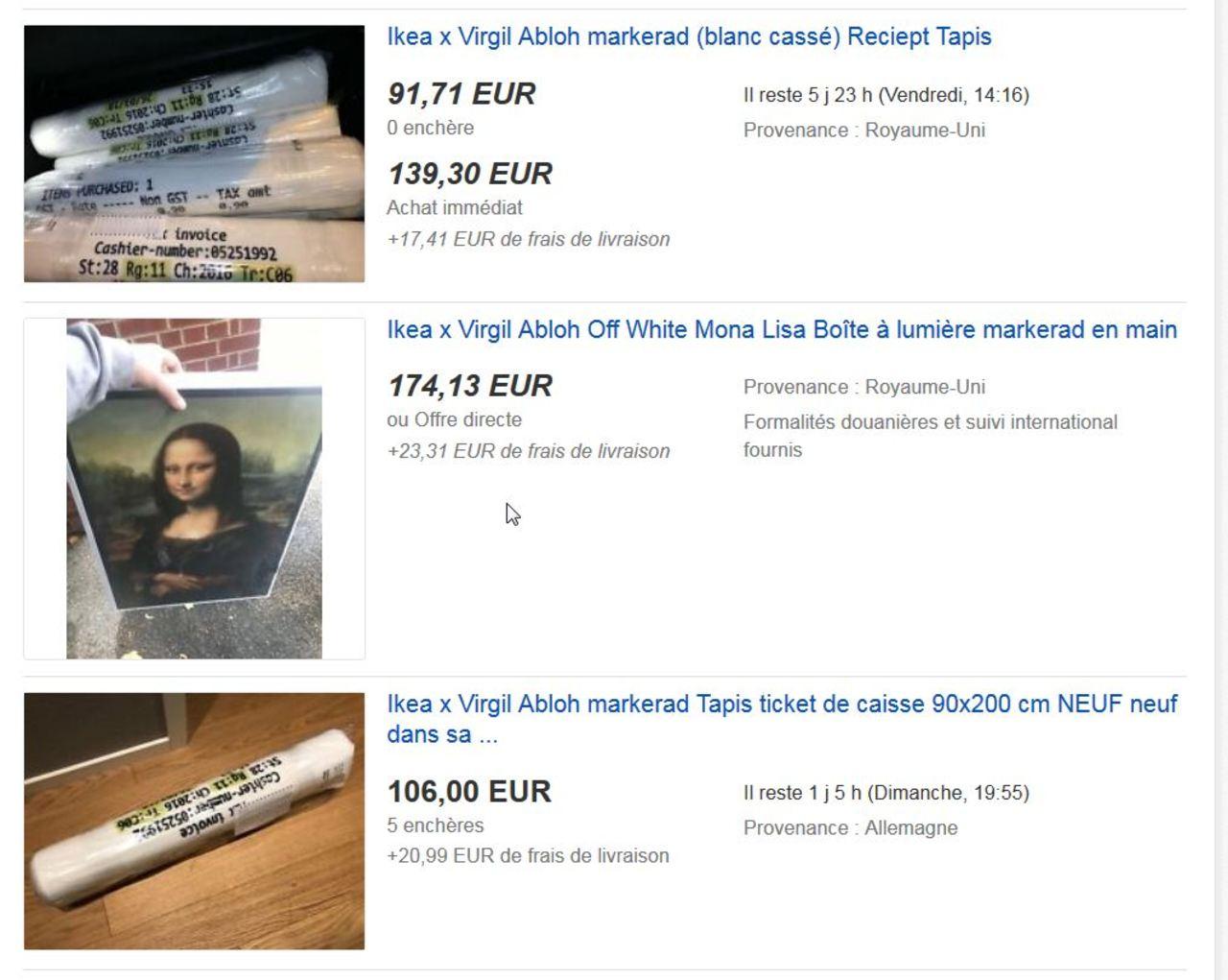 Virgil Abloh X Ikea devoirs Boîte à outils Boîte à outils accessoire neuf blanc cassé Supreme détenu