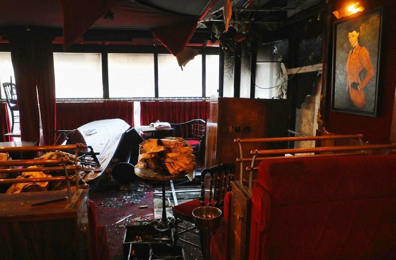 Paris : qui a incendié le célèbre restaurant La Rotonde ?