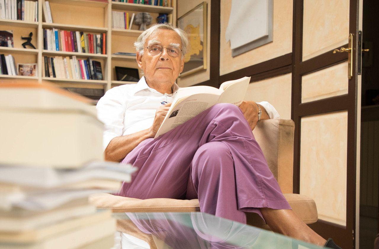 A 84 ans, Bernard Pivot tourne la page : «Je ne quitte pas les Goncourt pour remonter sur scène»