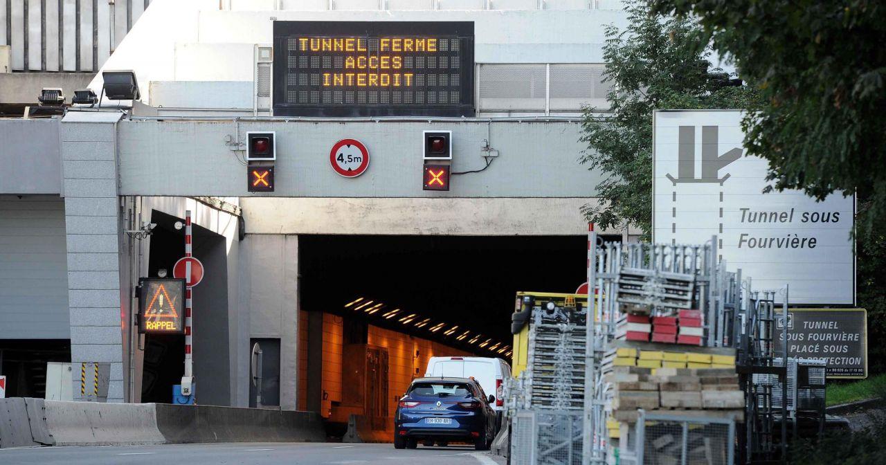 Lyon : fini la galère, le tunnel de Fourvière rouvre mercredi