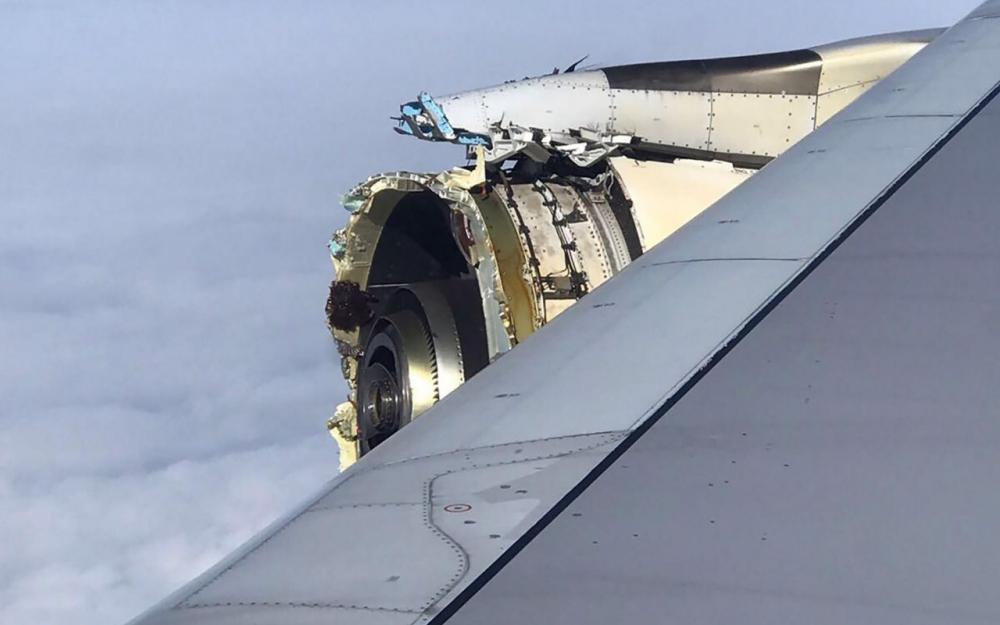 A380 d'Air France : les enquêteurs vont récupérer des éléments du moteur abîmé