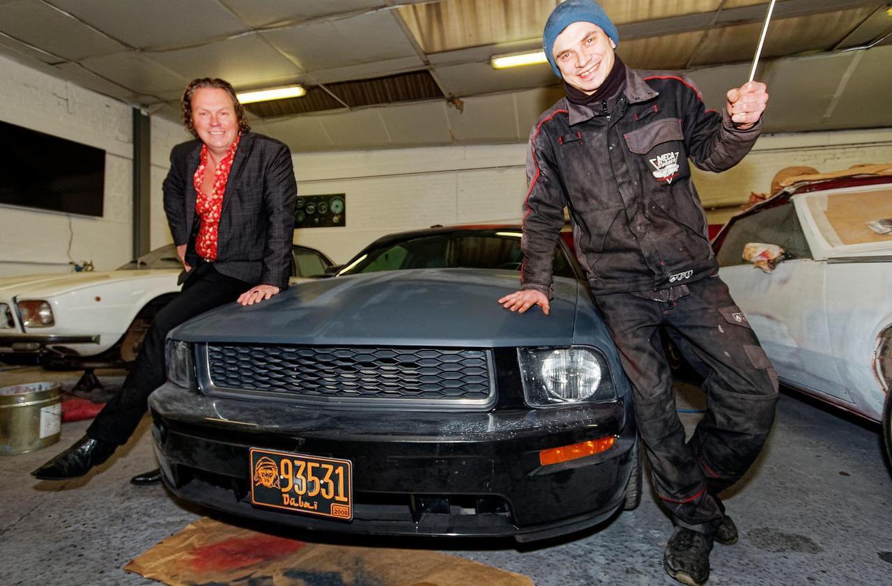 À Dieppe, un collectionneur et un mécano redonnent de l'éclat aux vieilles voitures