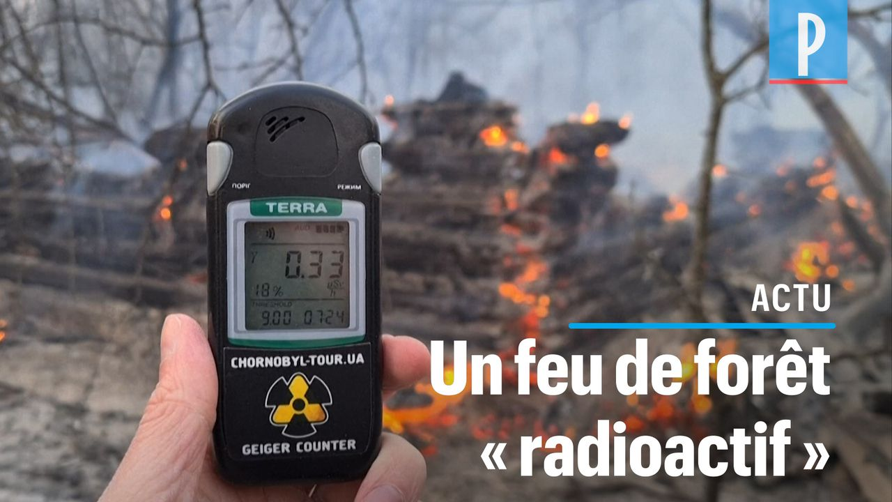 VIDÉO. Tchernobyl : un incendie ravive la radioactivé près de la centrale nucléaire