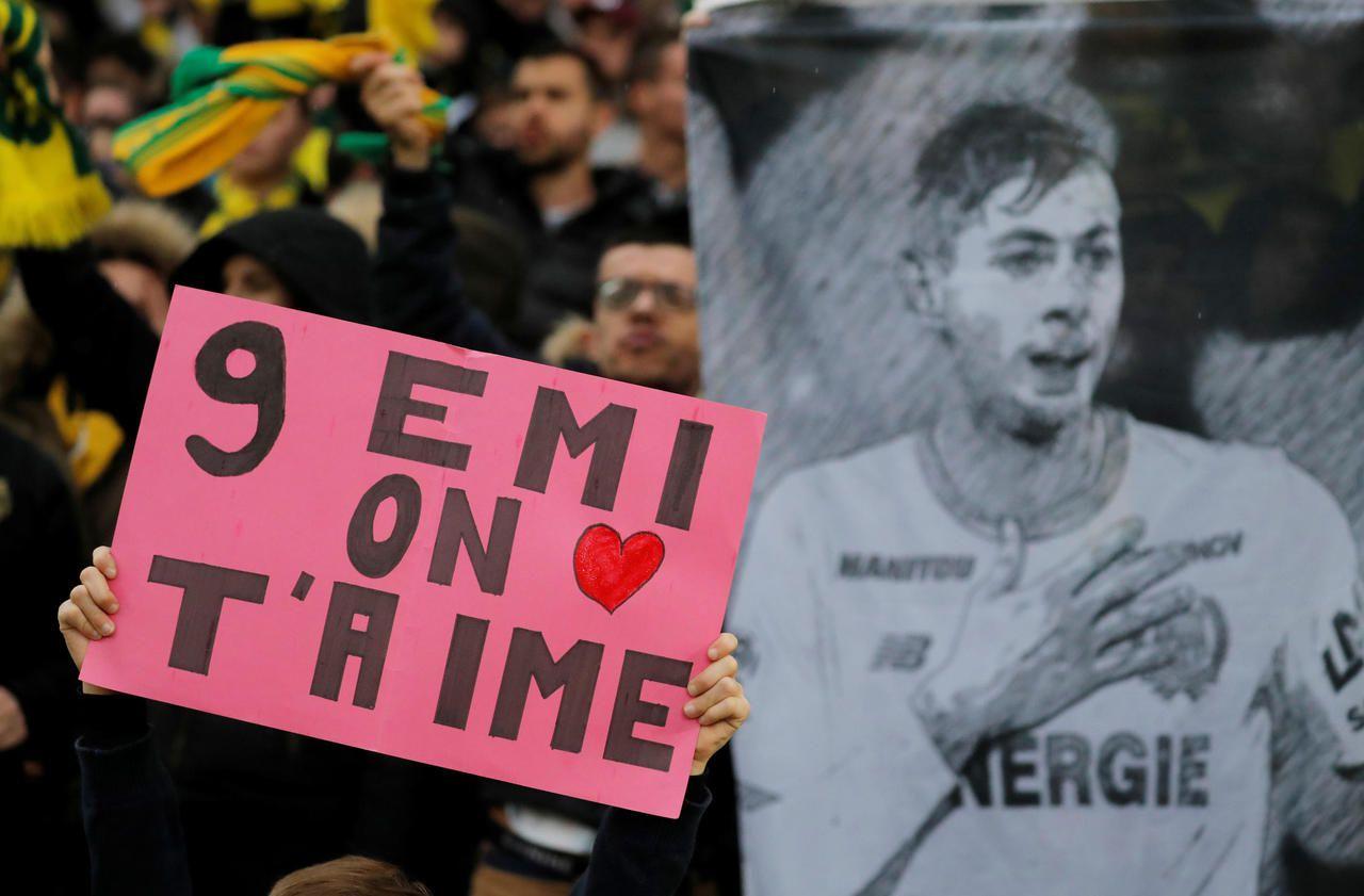 Ligue 1 : Nantes rend un vibrant hommage à Emiliano Sala, un an après son décès