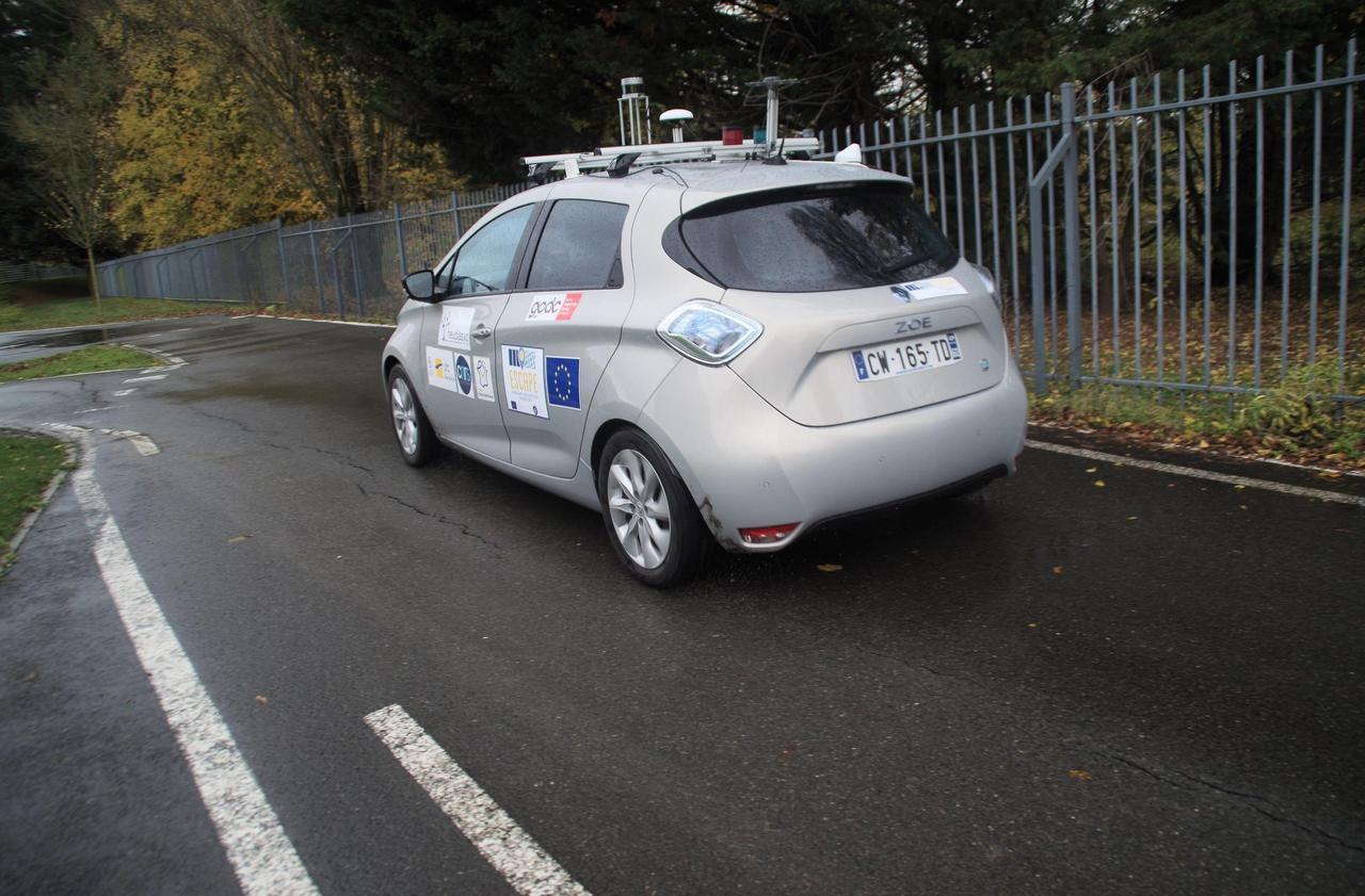 Premier test concluant pour la voiture autonome made in Compiègne