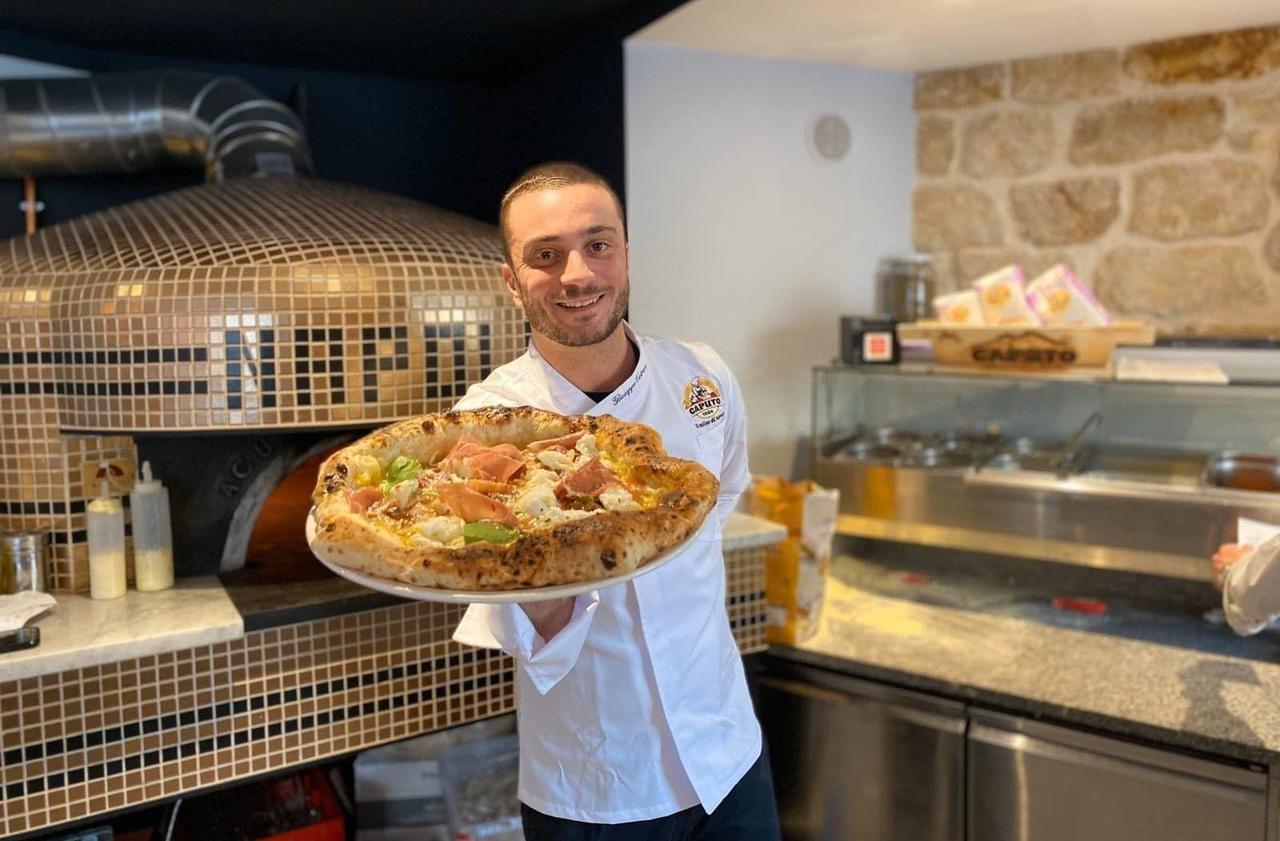 Resto à Paris : le champion du monde de pizza vient d'ouvrir son premier restaurant