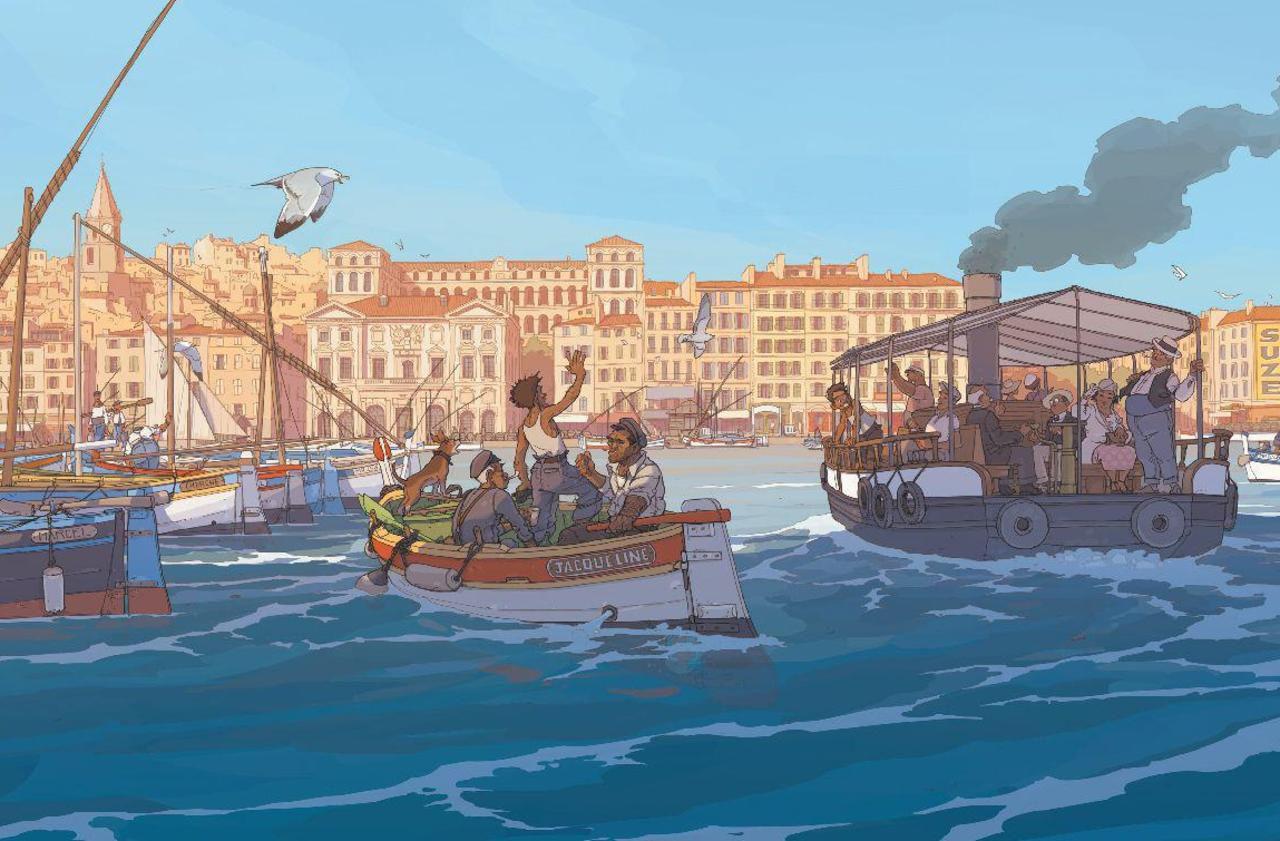 Marseille : sur le Vieux-Port, Pagnol raconté par Pagnol - Le Parisien