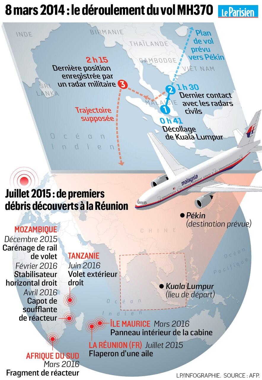 Vol Mh370 Revelations Sur Le Crash Mystere Le Parisien