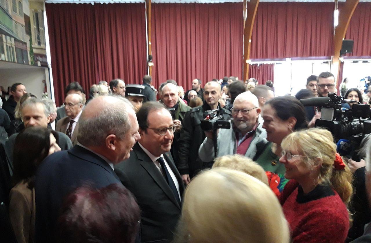 Magny-en-Vexin : François Hollande, invité pour les vœux du maire