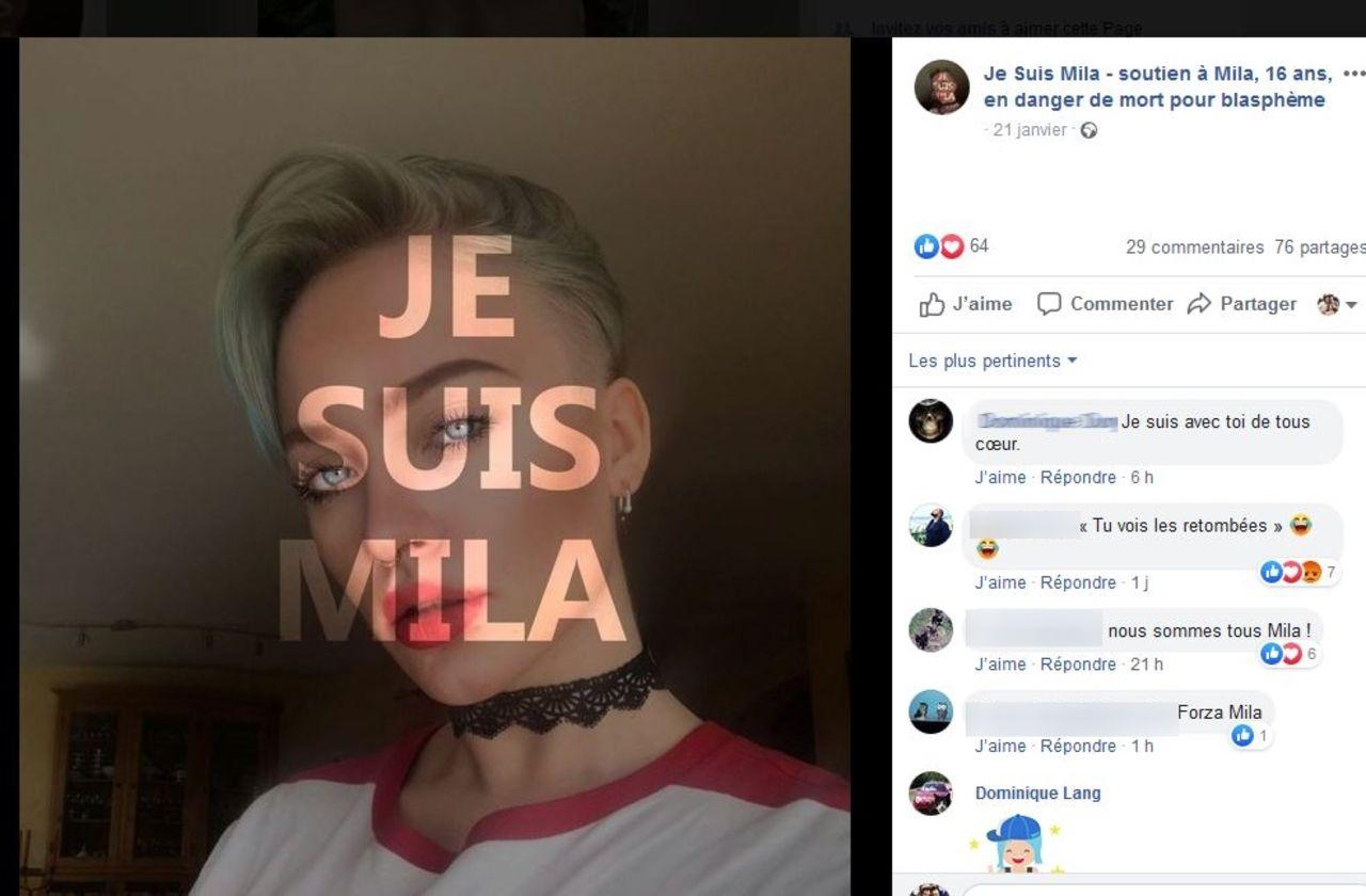 «Je suis Mila» : le cas d'une ado menacée de mort relance le débat sur le blasphème