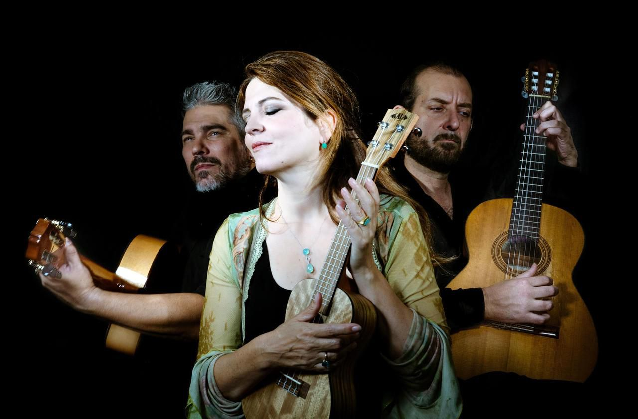 Chelles : Agnès Jaoui chante entourée d'amis latinos au théâtre - Le Parisien