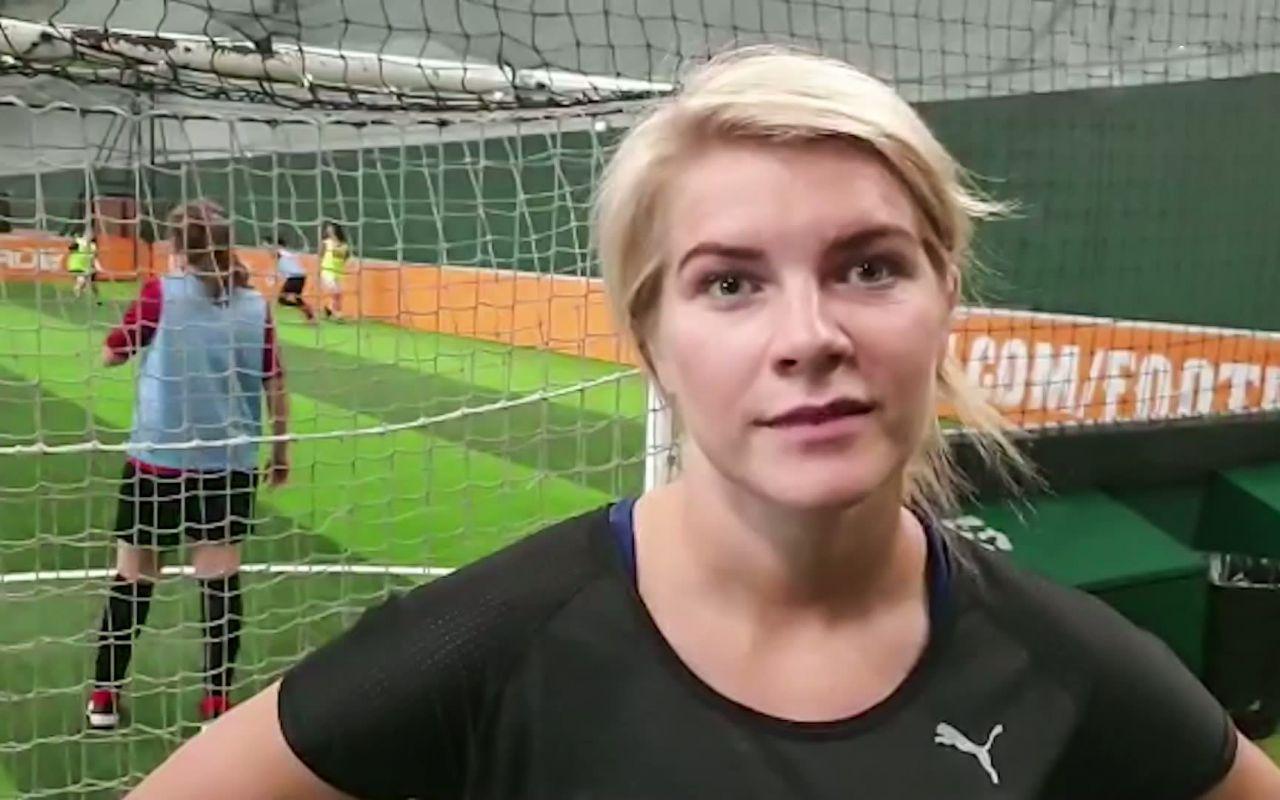 Ada Hegerberg, ballon d'or féminin : «Il faut des investissements pour changer le foot»