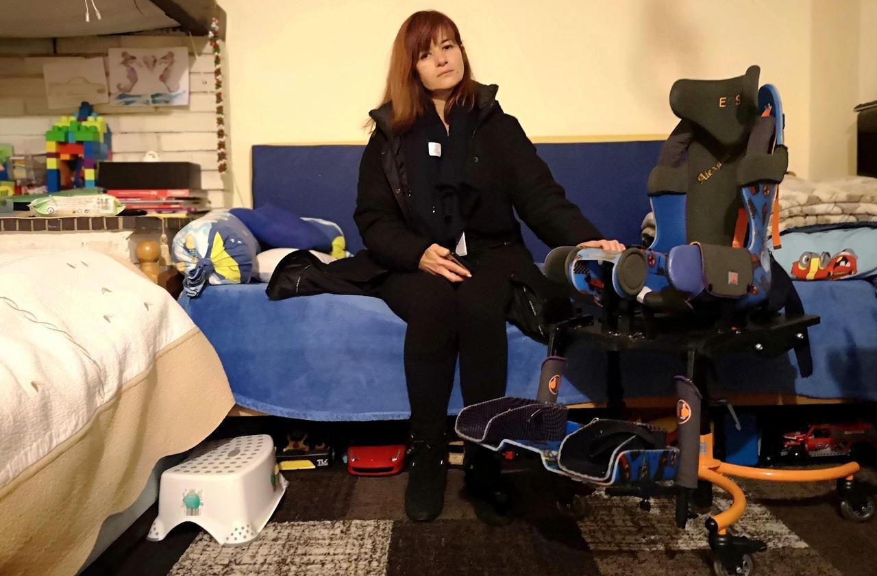 Noisy-le-Sec : la descente aux enfers de Viorica, mère d'un enfant handicapé et expropriée - Le Parisien