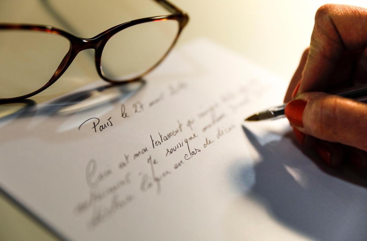 Sondage : moins d'un Français sur quatre a préparé un testament