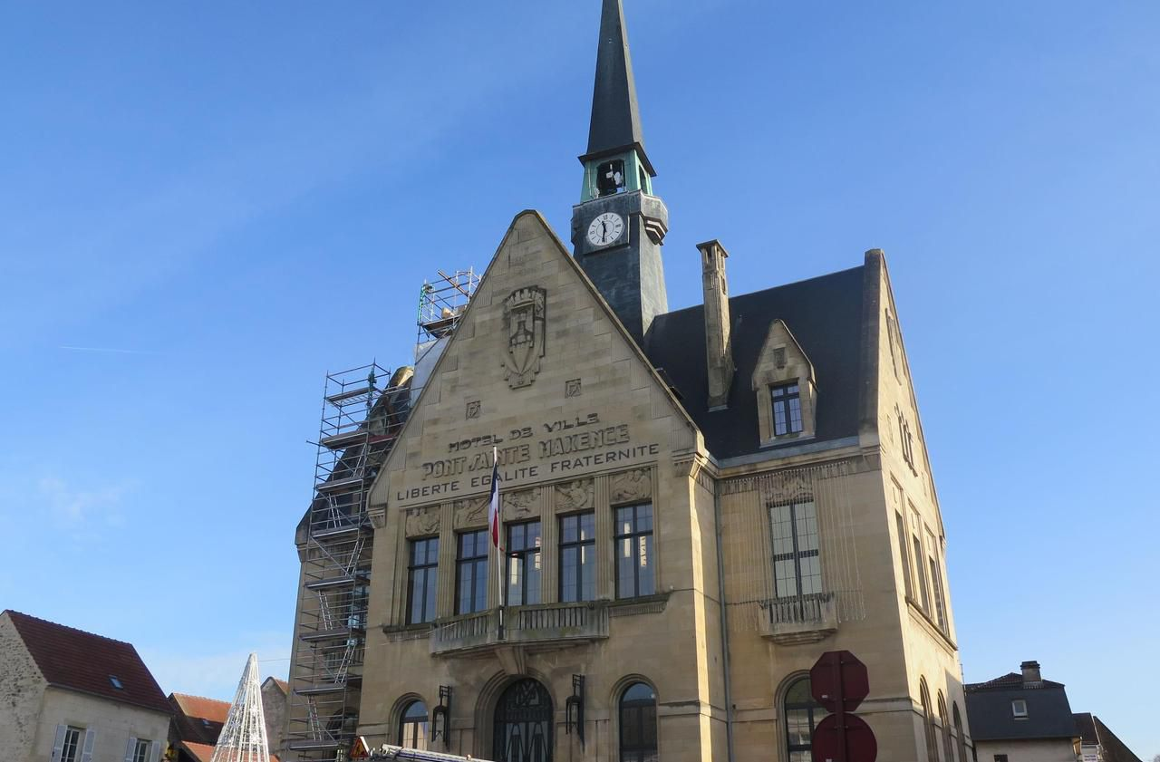 Rénovation terminée pour l'hôtel de ville de Pont-Sainte-Maxence