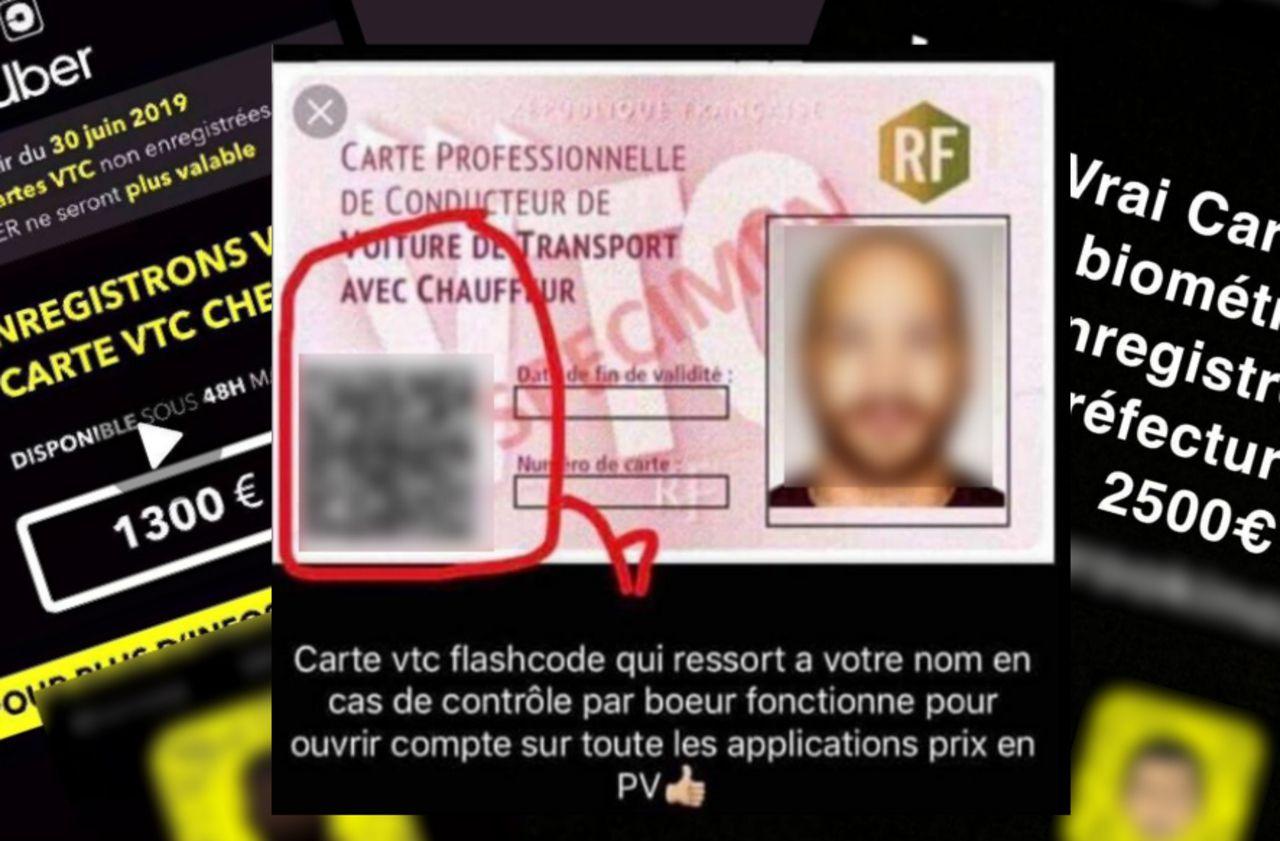 Comment des milliers de chauffeurs VTC roulent grâce à de faux documents