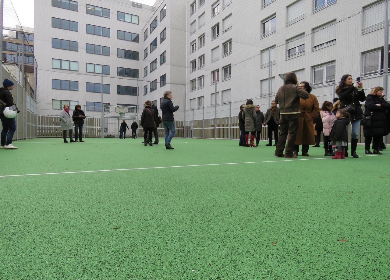 A Malakoff, un city stade «attendu depuis 15 ans» dans l'écoquartier Dolet-Brossolette