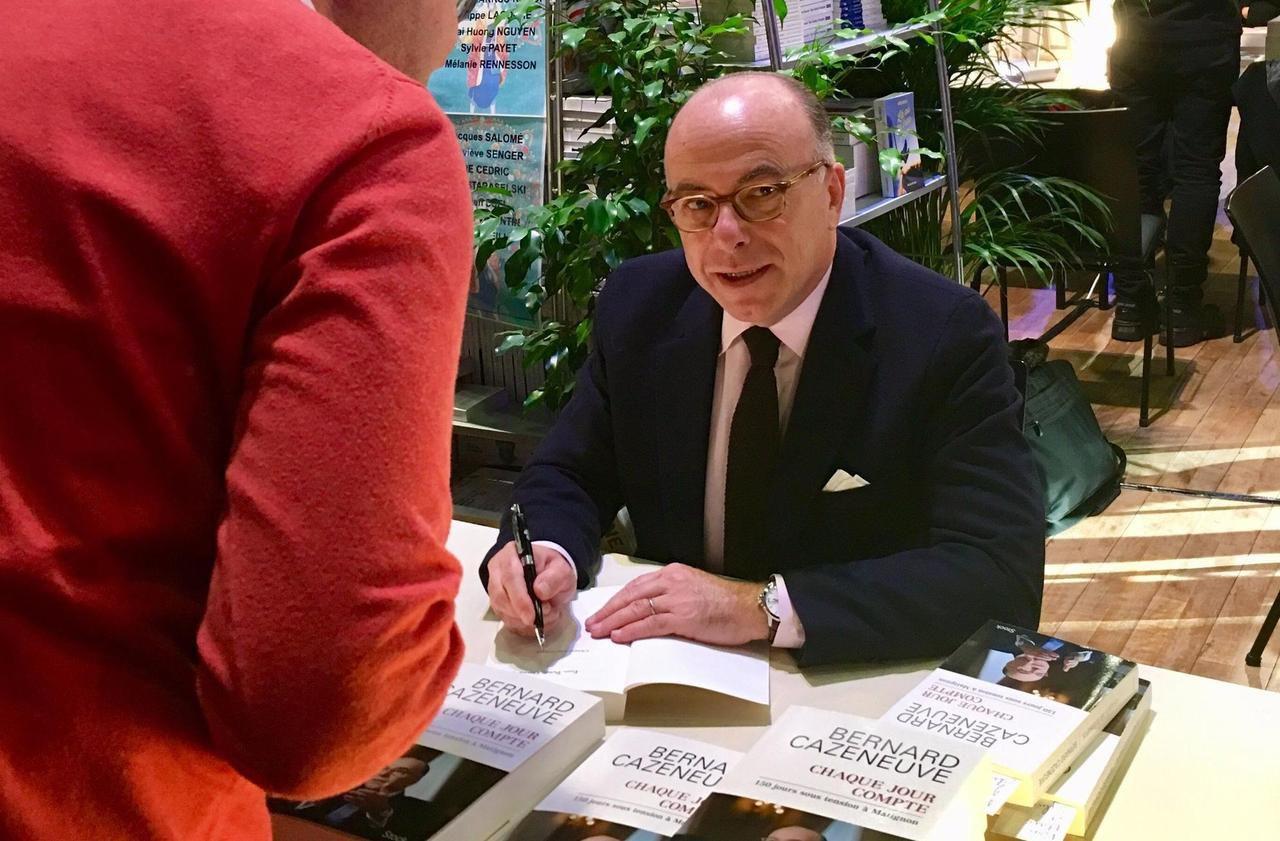 À Lamorlaye, Bernard Cazeneuve en dédicace à domicile